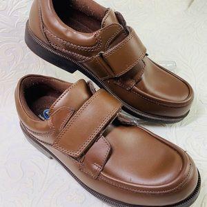 Dr. Scholl's men's brown walking comfort shoes